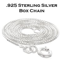 Sterling Silver Box Chain / Necklace