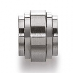 0380507 - Mens Jewelry by AAGAARD Stainless Steel Link