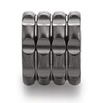 0380518 - Mens Jewelry by AAGAARD Stainless Steel Link