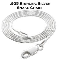 Sterling Silver Snake Chain / Necklace