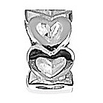 Lovelinks Jewelry Sterling Silver Ring Of Hearts Bead (Charm)
