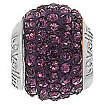 Lovelinks Crystal Ball Bead (Charm) - Purple