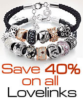 Closeout Clearance 40% off all Lovelinks Jewelry Sale