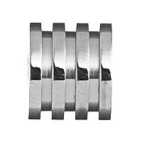 0380225 - Mens Jewelry by AAGAARD Stainless Steel Link