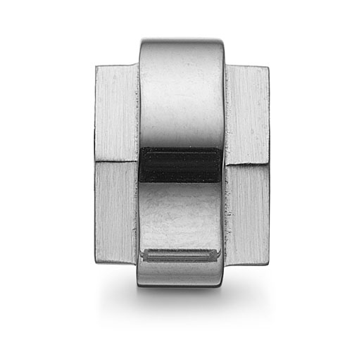 0380594 - Mens Jewelry by AAGAARD Stainless Steel Link