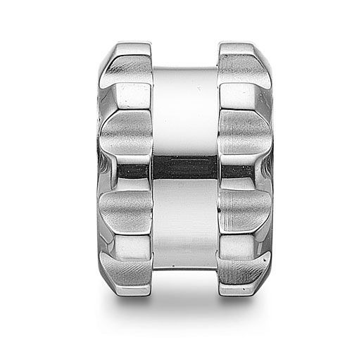 0380595 - Mens Jewelry by AAGAARD Stainless Steel Link