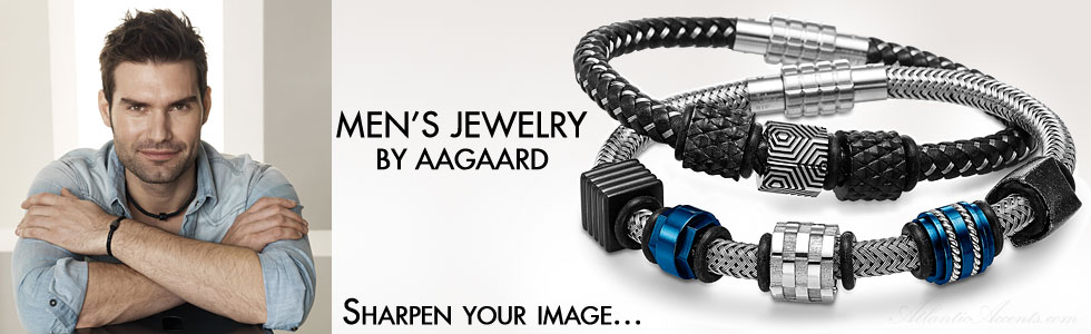 Hot Men's Jewelry by Aagaard